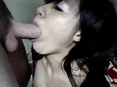 Cute asian girl with a sweet voice bj