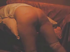 Homemade video of an asian girls hard spanking caning