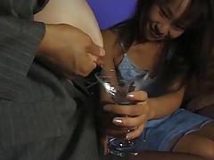 Japanese Lesbians drinking Milk !!!