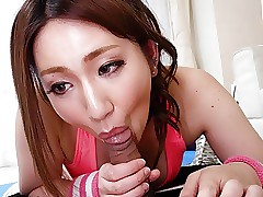 Busty Asian's bushy twat gets pounded by a yoga instructor