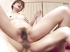 Hitomi Kanou removes the nun costume to fuck hard