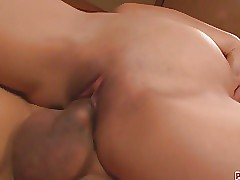 Marika japan girl blowjob ends in a pussy creampie