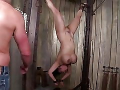 kinky big titted asian milf gets tied, punished and dp