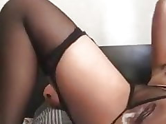 My sexy minx orgasms thinking about cock